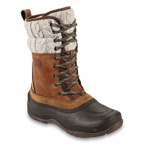 northface snow boots the shellista lace luxe mid boot s