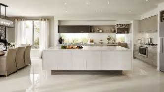 Modern Kitchen Designs Australia house with cream color interior in greenvale australia home design