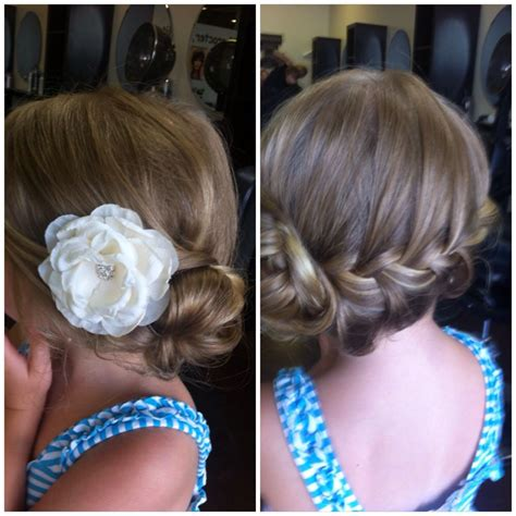 zapletane ucesy wedding hairstyles for little girls best photos svadba