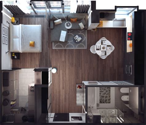 how to design a small apartment 15 smart studio apartment floor plans