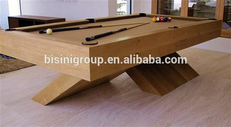 national pool table company special design wood color 9ft slate billiard table