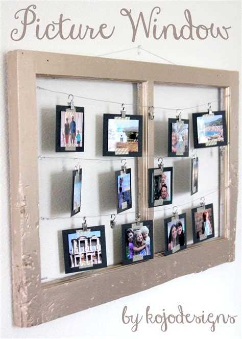 17 best ideas about window photo frame on pinterest how to turn a reclaimed window into a metallic picture frame