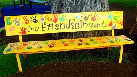 friendship benches friendship bench anita harris flickr