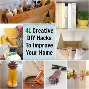 41 super creative diy hacks ideas to improve your home