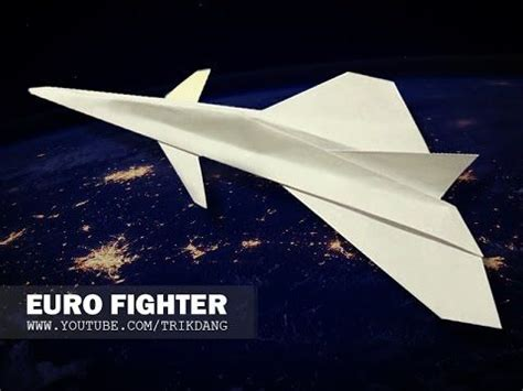 How To Make A Paper Jet Fighter - how to make a paper airplane that flies jet fighter