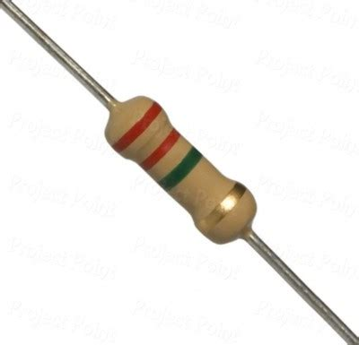 Resistor 2 2m Ohm 1 resistor 2 2m ohm 1 4 watt faranux electronics