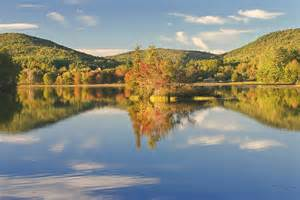 Landscape Vienna Fall Landscape On Flying Pond In Vienna Maine Photograph