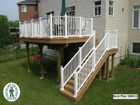 Deck Stairs Design Ideas Elevated Deck Designs With Stairs Elevated Wood Deck Designs Large Deck Plans Mexzhouse