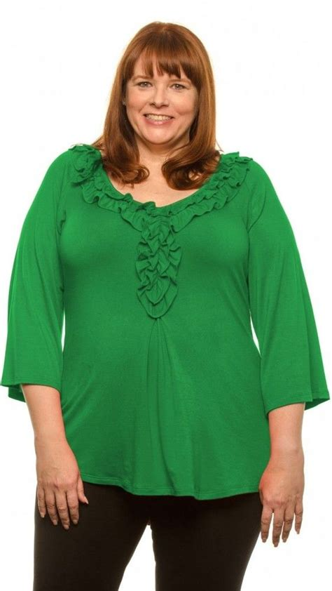 blouses for women over 50 want a soft plus size top that covers your tummy and butt