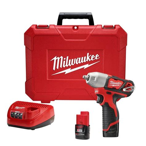 milwaukee m12 12 volt lithium ion cordless 3 8 in impact