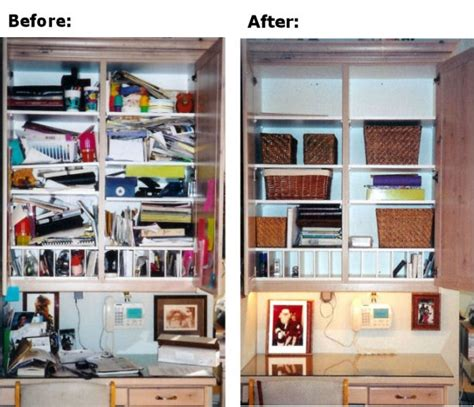 before and after organizing before and after get organized ideas