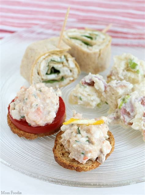 2 easy savory cottage cheese appetizers for