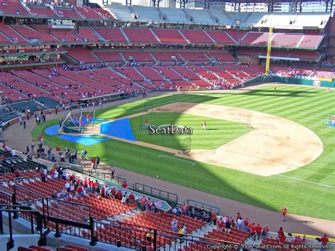 Busch Stadium Section Map by Busch Stadium Section 240 Rateyourseats