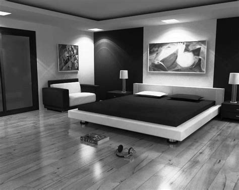 modern bedroom furniture black  white greenvirals style