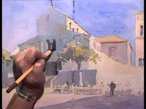 tutorial watercolor and ink dvd the pen wash course with margaret evans youtube