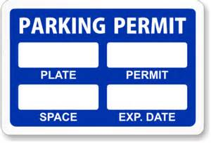 parking pass template reserve a spot parking permits free shipping