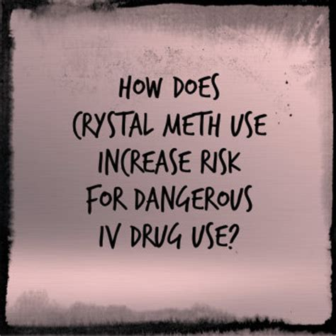 How To Increase Detox Rate Meth by Meth Use Increases Risks For Iv Use Iv