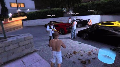 drive shoot gta 5 drive by shooting pt2 youtube