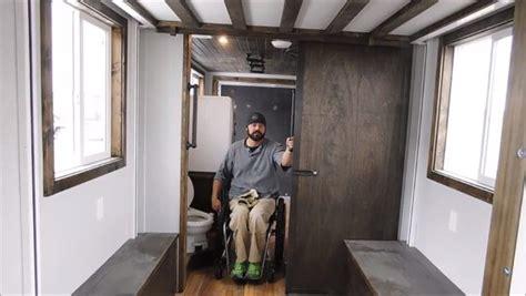 marcs wheelchair friendly tiny house  wheels built