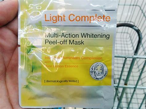 Masker Garnier Light Complete garnier skin naturals light complete multi whitening peel mask 2 doses buydee store