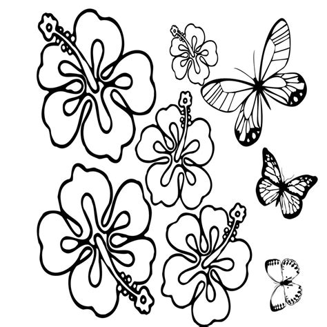 imagenes de mariposas y flores para imprimir dibujos para colorear flores y mariposas