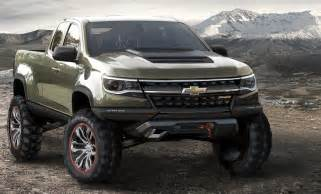 future chevy trucks chevy colorado concept truck