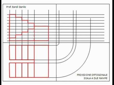 proiezione ortogonale di una sedia assonometria isometrica scala a 2 re doovi
