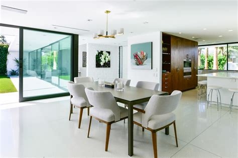 beautiful dining room table in wood and glass 5009