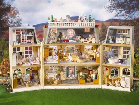 calico critter house calico critters cloverleaf manor ultimate dream house for calico critters modern