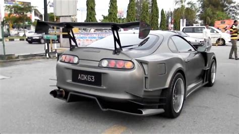 widebody supra mk4 toyota supra widebody jza80 clean supra