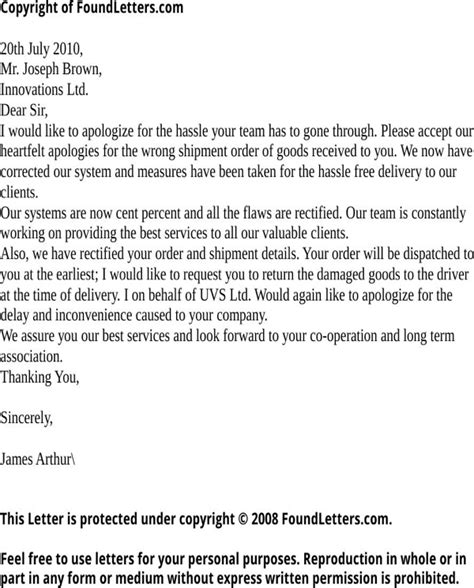Apology Letter For Mistake In Resume Free Letter Of Apology For Mistake For Doc Pdf