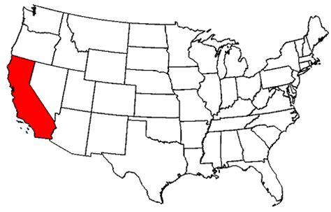 american map of california california map usa