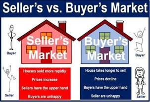 opposite of buyer what is a seller s market definition and meaning market