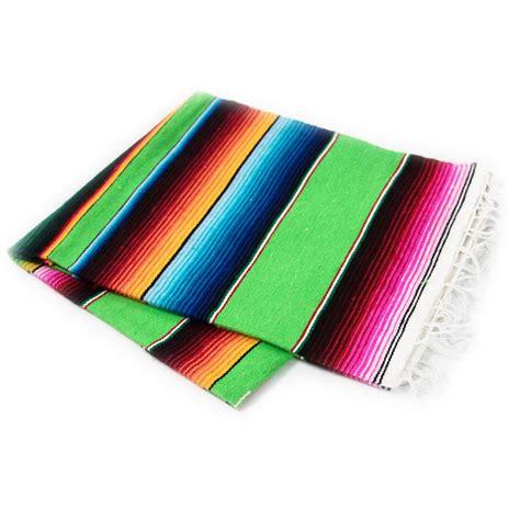 mexikanische decke mexikanische decke serape limette superskull