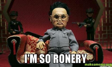 So Lonely Meme - i m so ronery make a meme