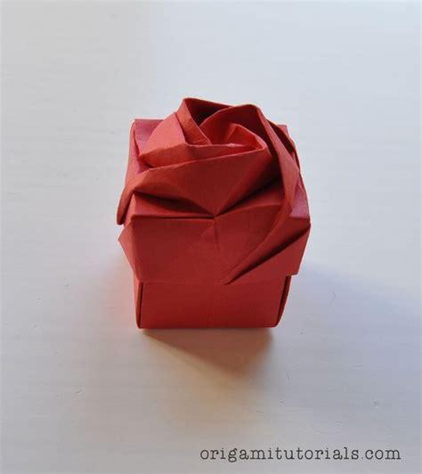3d Origami Box - origami box tutorial origami inspiration