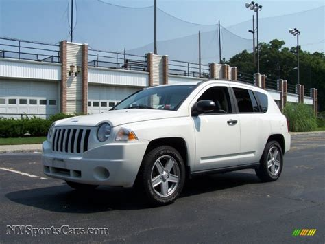 jeep compass sport white 2007 jeep compass sport 4x4 in stone white 256757