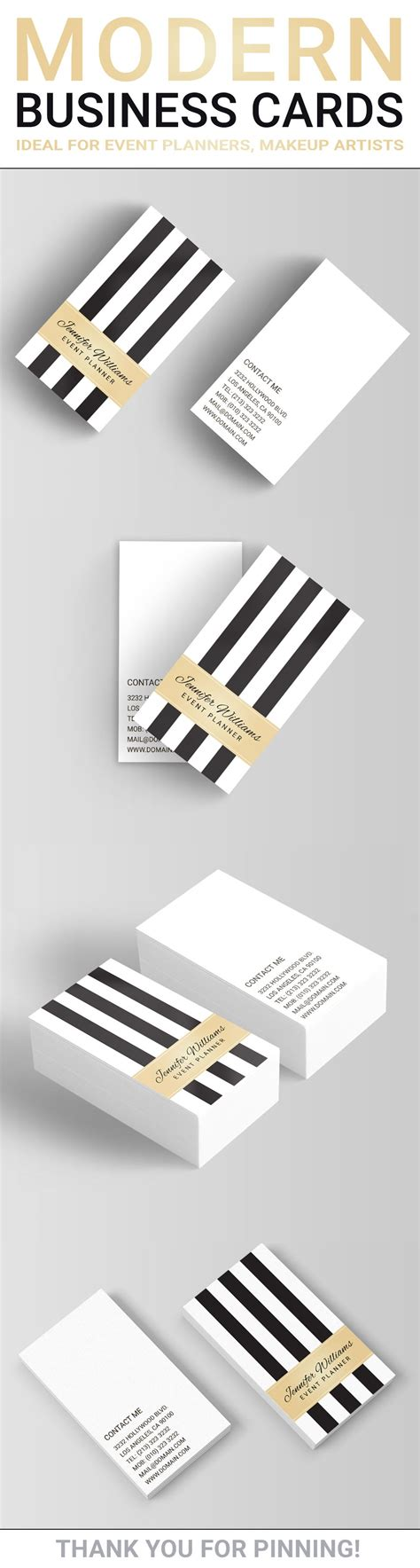 trendy business cards templates trendy and chic vertical business cards template with