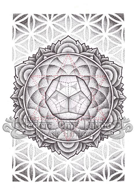harrison tattoo designs dodecahedron mandala 2012 by ash harrison tattoos