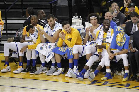 golden state bench warriors rewind 10 thoughts on game 2 stephen curry s