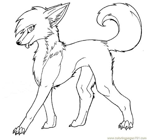 wolf pictures to color anime wolf coloring pages animal coloring pages in 2019