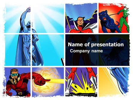 Marvel Powerpoint Templates And Backgrounds For Your Presentations Download Now Powerpoint Comic Template