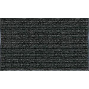 Home Depot Door Mats by Trafficmaster Enviroback Charcoal 60 In X 36 In Recycled Rubber Thermoplastic Rib Door Mat 60