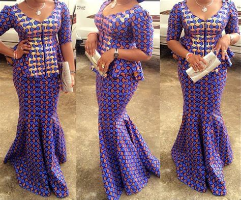 latest style in nigerian ovation ankara skirt and blouse styles latest pictures