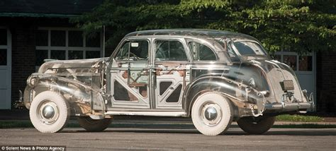 lade in plexiglass world s only remaining ghost car headed for auction
