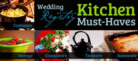 wedding registry must haves wedding registry must haves for the kitchen xtrema