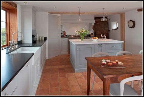 floor kitchen kitchens with terracotta floors wood floors