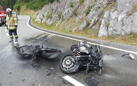 Motorradunfall Samstag toter und schwerverletzter bei motorradunfall im au 223 erfern