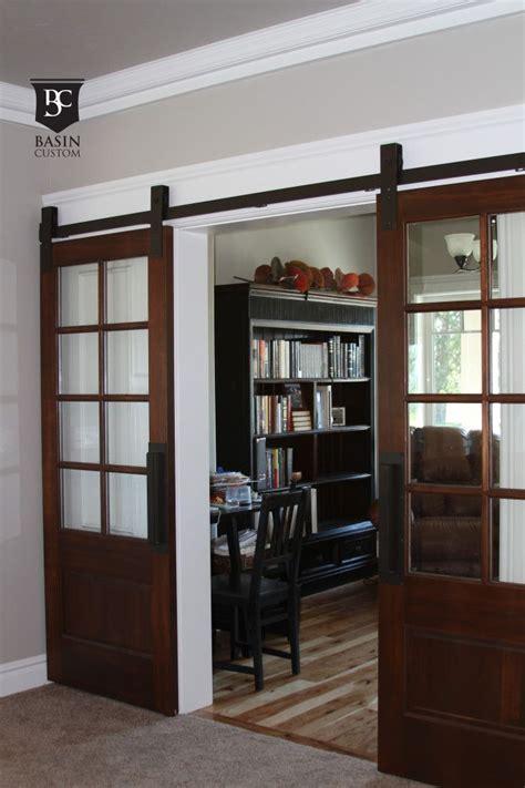 Barn Door Glass Best 25 Glass Barn Doors Ideas On Interior Glass Barn Doors Separate And Sliding