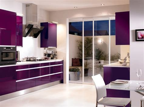 beautiful purple kitchen color combination 4 home ideas